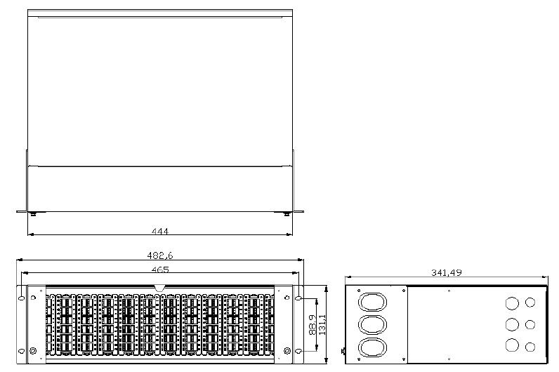 Product illustration - 3U