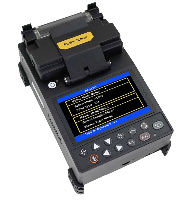 TL-S5 FTTH Fiber Optic Fusion Splicer